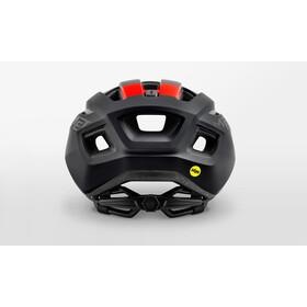 MET Vinci MIPS Casco, black/red matte